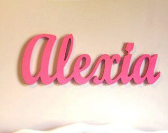 Name plaque wooden name for kids or baby room decor kids name plaque wooden name for kids or baby room decor kids personalized wooden name negle Choice Image