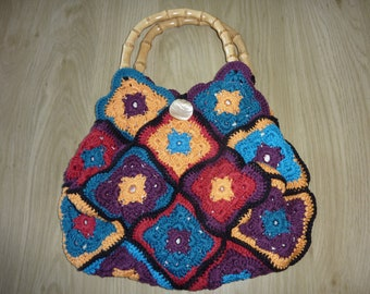 colorful grannies bag