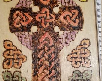 Celtic knot cross