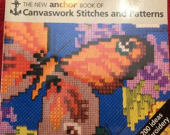 The New Anchor Book of Canvaswork Stitches and Patterns
