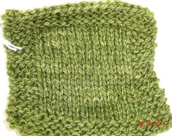 worsted weight yarn: SHADED OLIVE  2 ply worsted soft wool kettle dyed yarn 220 yd skein from our American farm