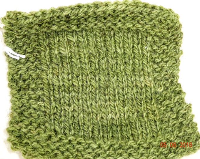 SHADED OLIVE  2 ply worsted soft wool kettle dyed yarn 220 yd skein from our American farm