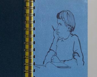 Vintage Notebook Girl
