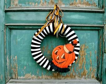 Halloween Wreath The All Hallows Eve Wreath