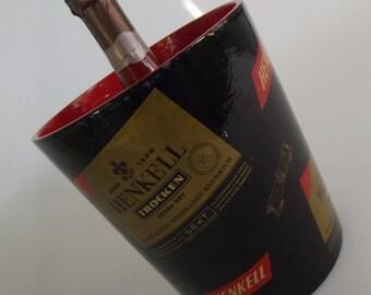 Henkel Trocken , vintage Champagne cooler , ice bucket, from the 50s