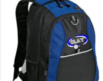 Clay High Volleyball Back Pack