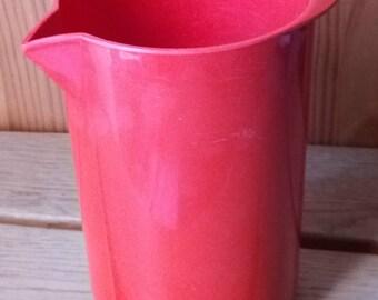 Pretty Melamine ROSTY 70s water pitcher