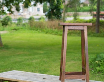 Walnut Bar Stool – Wooden Counter Stool Modern Design