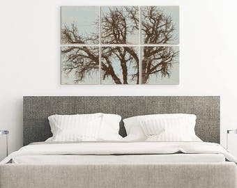 Rustic Home Decor - Olive Branch Art - Nature Inspired - Rustic Tree Wall Art - Tree Branch - Rustic Tree Art - Tree Branch Wall Art