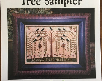 The Willow Tree Sampler by Carriage House Samplings