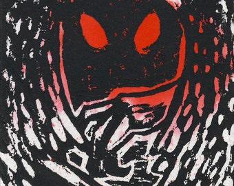 The Mothman ACEO Print