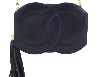 Chanel Black CC Mini Bag