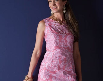 Sis Boom Rebecca Dress, Women's Sheath Dress sewing pattern - PDF E-Book with Scientific Seamstress