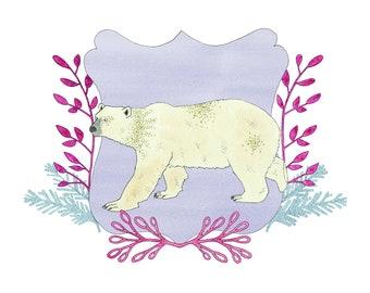 Polar Bear print