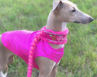 TURBOBOOST PERFORMANCE - Holographic Coursing Blankets (Tank Style) - Small/Medium Sighthounds