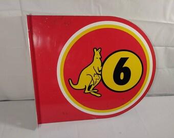 Vintage Kangaroo Gas Station Pump Flange