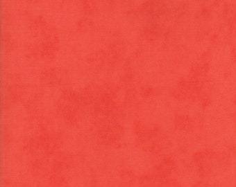 Fig Tree Fabric - Ella and Ollie Fabric Yardage - Moda Quilt Fabric - Red Tone on Tone Fabric By The 1/2 Yard -