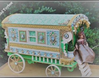 Laser cut Burton Gypsy Wagon Trailer caravan Kit