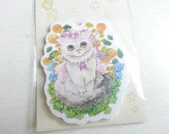 Lovely Cat Sticky Memo - 30 sheets