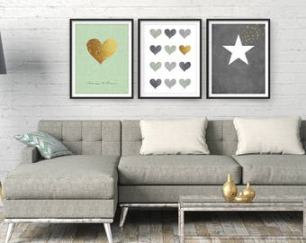 Superieur Living Room Wall Art, Large Wall Art, Modern Art, Wall Art, Living