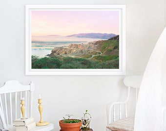Nature Photography, California Dreamin' - San Francisco Ocean Beach Large Archival Print 18x12
