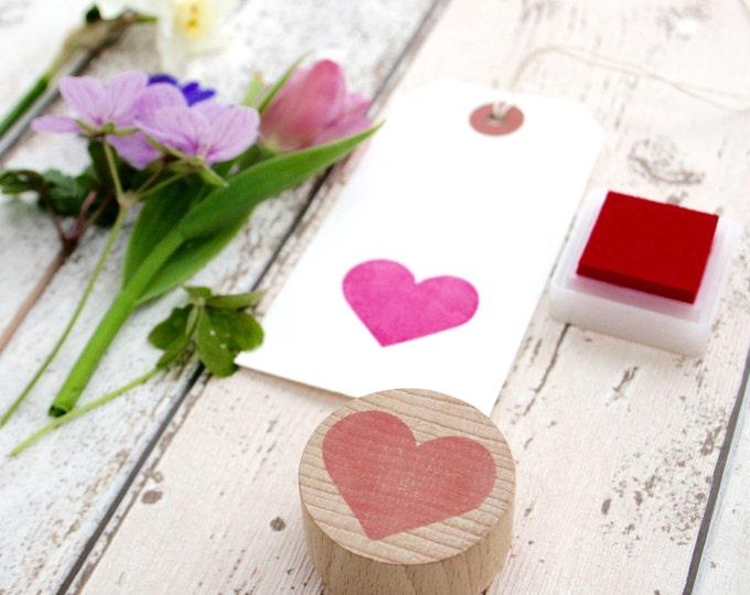 Love Heart - Heart Hand Carved Rubber Stamp - Little Stamp Store - Heart stamp - Rubber stamp - heart rubber stamp - valentine - valentines