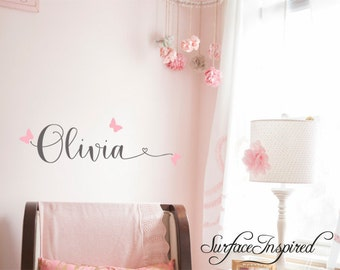 Wall Decals Personalized Names Nursery Wall Decal Kids Wall Decal Wall  Decal Quote Wall Decals For