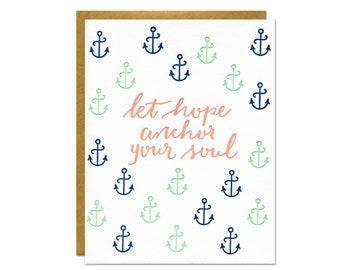 Hope Letterpress Card