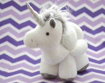 Unicorn and Horse Puzzle Ball - PDF Sewing Pattern