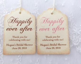 quick view more colors happily ever after tags fairytale bridal shower