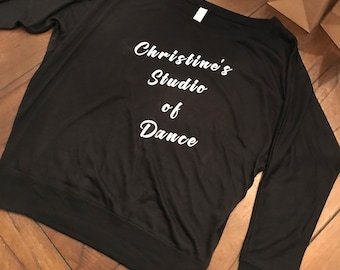 Christine's Studio of Dance-Custom Long Sleeve Shirt- Adult