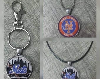 New York Mets key chain or necklace