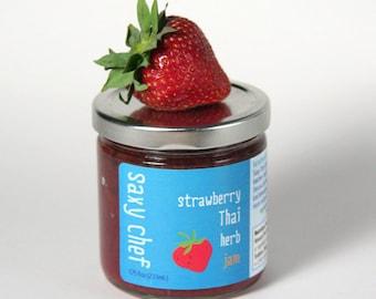 Strawberry Thai Basil Jam 7.75oz Jar