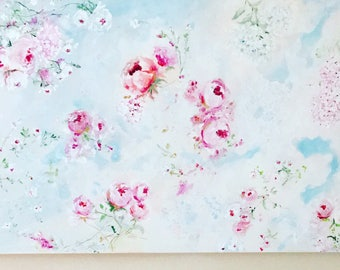Dreaming of Spring 24x36 canvas
