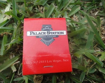 Vintage Matchbook Palace Station Hotel Casino Matches