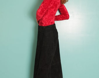 Suede long skirt (SM)