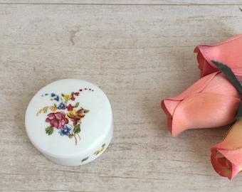 Vintage Limoges Porcelain Ring Box