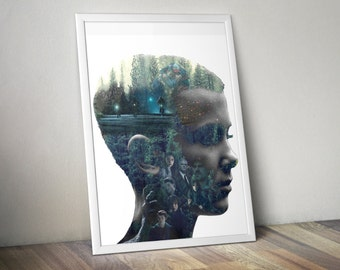 Stranger Things Poster Art Print