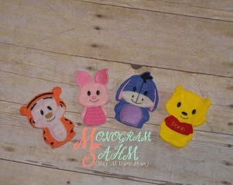 Pooh and Friends Finger Puppet Set
