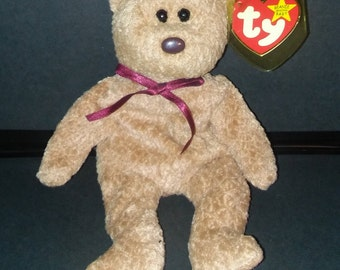 Ty Beanie Baby Curly with Errors