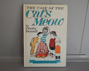 The Case of the Cat's Meow by Crosby Bonsall / Hardcover