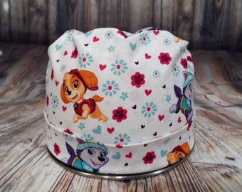 Women's Pixie Style Scrub Hat (Girly Paw Patrol)