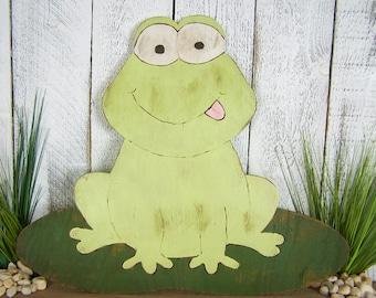 Frog Art Frog Gift Kids Room Wall Art Frog Nursery Wall Decor Girl Boy Nursery Decor Kids Room Frog Wall Art Kids Room Art Frog Decoration
