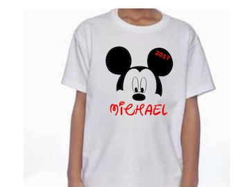 Mickey Mouse personalized shirt, Minnie mouse personalized shirt, disney vacation shirt, family vacation shirt, disney personalized shirt
