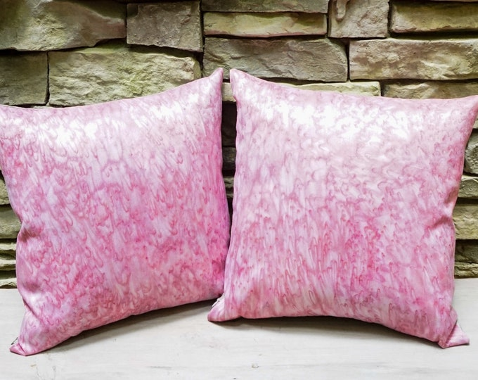 Blush Pillow 18x18-Blush Pink Decor-Girls Room Decor-Girls Nursery Decor-Pastel Pink-Shabby Chic Pillows-Cottage Decor-Pink Decor-Watercolor