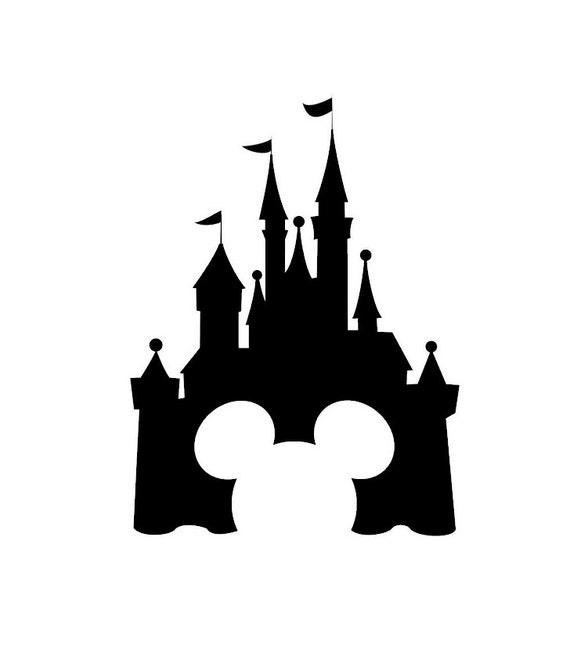 Disney castle decal disney decal disney castle sticker
