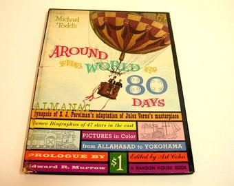 Around The World In 80 Days Vintage Book - Michael Todd