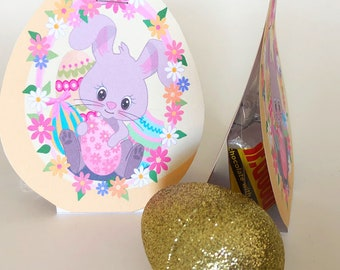 Easter Egg Candy Tent Printable