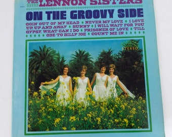 The Lennon Sisters On the Groovy Side Vinyl LP Record Panwood R8004