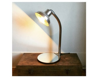 Hoover Lamp with a Mirror Base